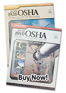 OSHA Regulation Books