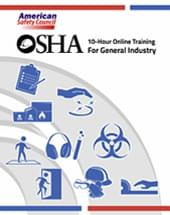 OSHA Study Guide for 10-Hour General Industry